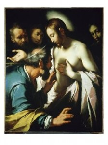 Doubting Thomas painting 224x300 Biblical Highlights for Young Children