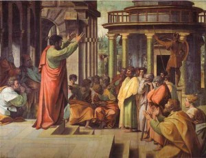 apostle paul raphael 300x230 Biblical Highlights for Young Children