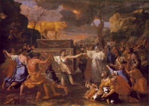 golden calf 300x213 Biblical Highlights for Young Children