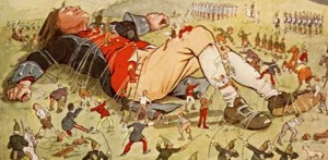 gulliver travels tied by lilliputians 300x147 Classics for Young Readers