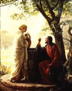 woman well 236x300 Biblical Highlights for Young Children
