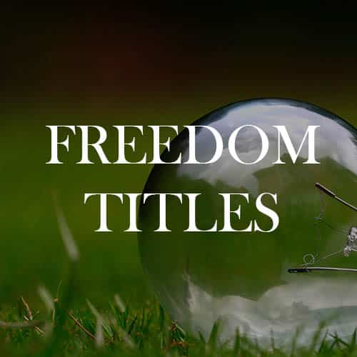 Freedom Titles
