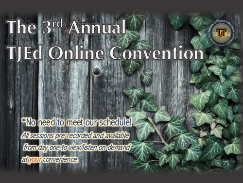 TJEd Online Convention